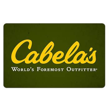 $75 Cabela's Gift Card