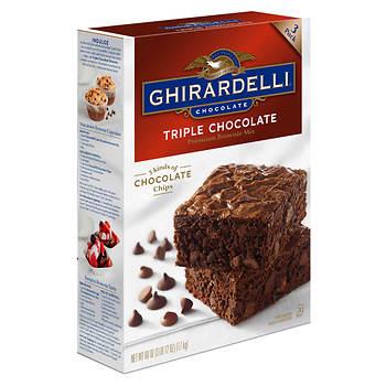 Triple Chocolate Brownies Ghirardelli Recipe
