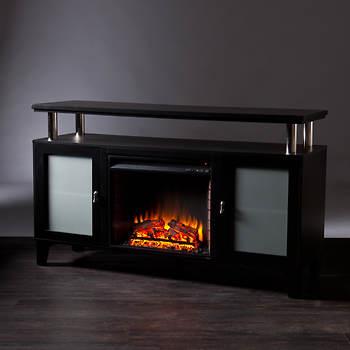 Sei Chauncer Media Fireplace Black Bj 39 S Wholesale Club