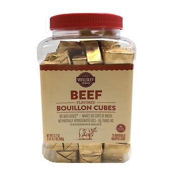 Wellsley Farms Beef Flavored Bouillon Cubes, 75 ct. Item: 35714 | Model: