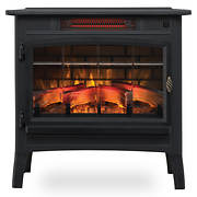 Duraflame 5,200-BTU Infrared Quartz Stove with 3D Flame Effect - Black