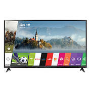 "LG 65UJ6300 65"" 4K UHD HDR Smart LED TV with White Glove Delivery"