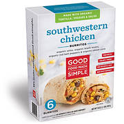 Good Food Made Simple Southwestern Chicken Burritos, 6 pk./2 lbs.