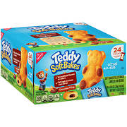 Nabisco Teddy Soft Bakes Chocolate Filling Snacks, 24 ct.