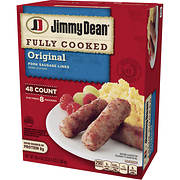Jimmy Dean Fully Cooked Original Pork Sausage Links, 38.4 oz.