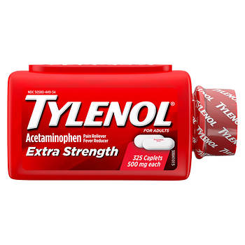 Tylenol Extra Strength Acetaminophen Caplets - 325 ct.
