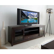 "Abbyson Living Modena 72"" Oak Entertainment Center - Espresso"