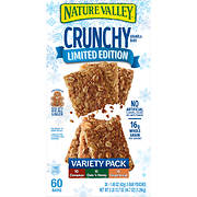 Nature Valley Crunchy Granola Bars Variety Pack, 30 ct.