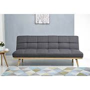 Abbyson Living Delaney Linen Sofa Bed - Gray