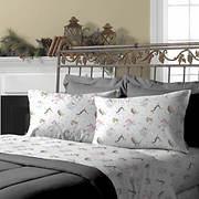 Morgan Home King-Size Fleece Sheet Set - Assorted