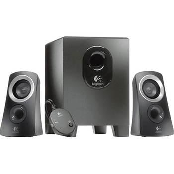 Logitech 3-Pc. Speaker System