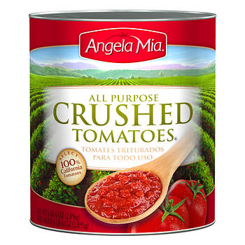 Angela Mia Concentrated Crushed Tomatoes, 102 oz.