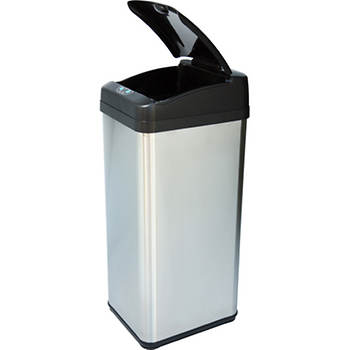 iTouchless Square Automatic Trash Can