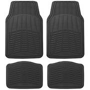 Michelin 4-Pc. Rubber Universal Mat Set - Black