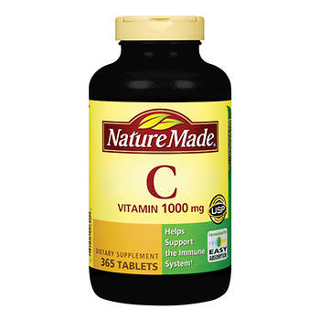 Nature Made 1,000mg Vitamin C Tablets, 365 ct.