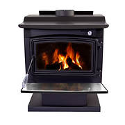 Pleasant Hearth 77,000-BTU Large Wood-Burning Stove