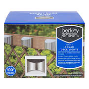 Berkley Jensen 6-Lumen Deck Light, 4 pk. - Stainless Steel