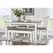 Powell Jane 6-Pc. Dining Set - White
