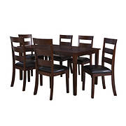 Powell Linville 7-Pc. Dining Set - Cherry
