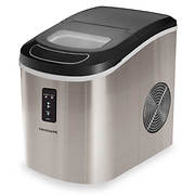 Igloo 26-lb. Compact Ice Maker - Stainless Steel