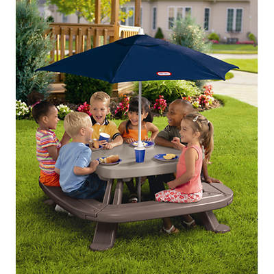 Little Tikes Endless Adventures Fold 'N Store Picnic Table