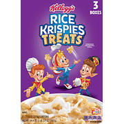 Kellogg's Rice Krispies Treats Cereal, 3 pk./11.6 oz.