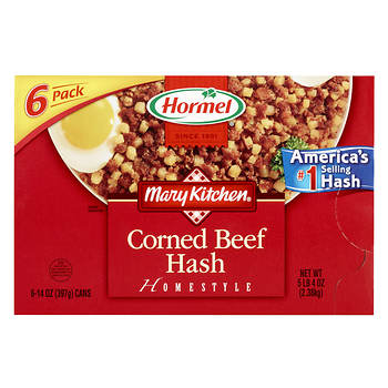 Hormel Mary's Kitchen Corned Beef Hash, 6 pk./15 oz.