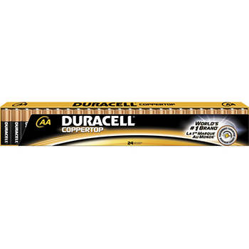 Duracell CopperTop AA Batteries, 24 pk.