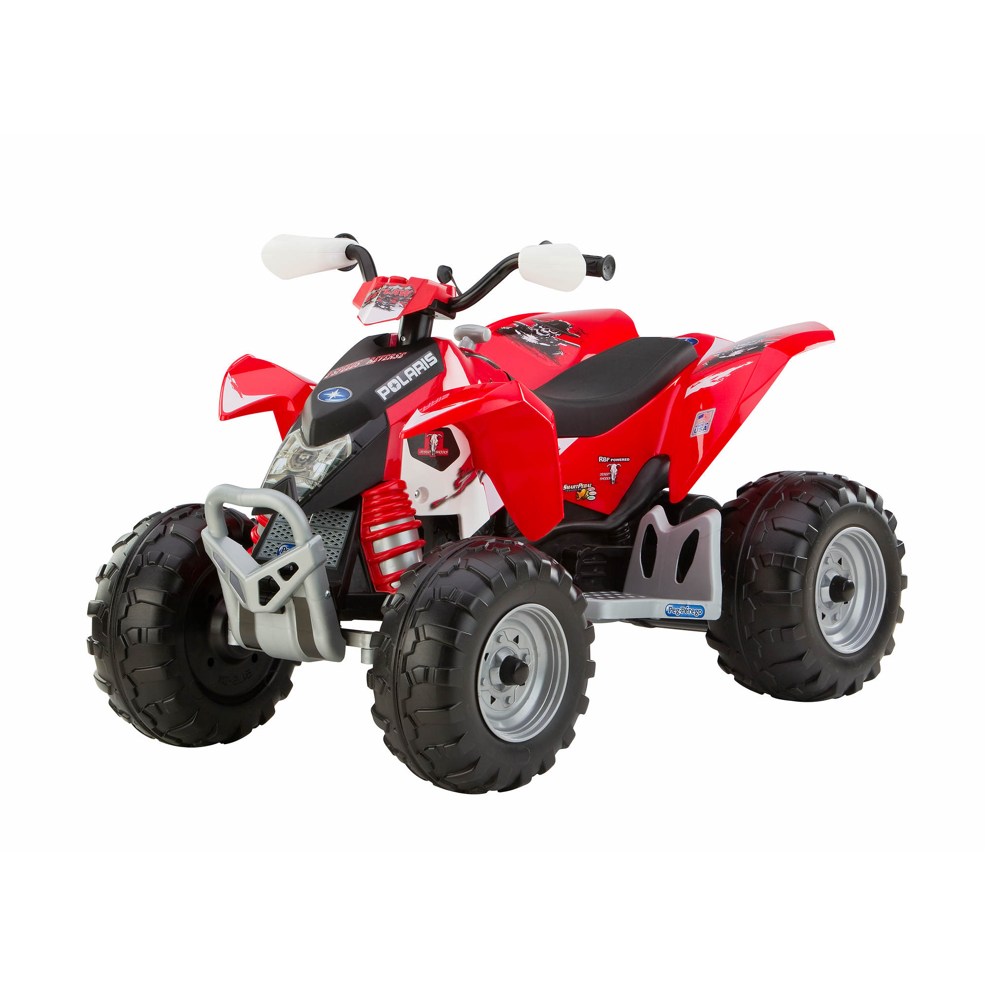 peg perego polaris outlaw red motorized atv bj 39 s