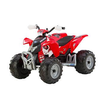 Peg Perego Polaris Outlaw Red Motorized ATV
