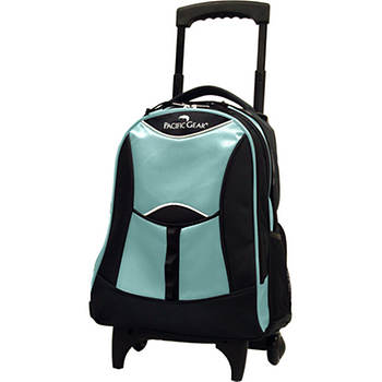 "Pacific Gear 19"" Wheeled Backpack (Glacier)"