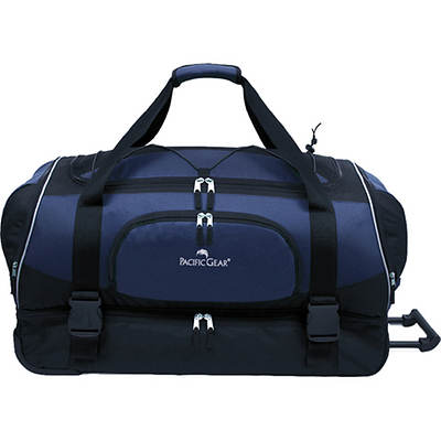 "Pacific Gear 30"" Rolling Duffel Bag - Navy"