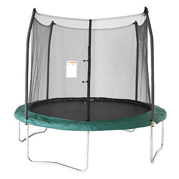 Skywalker Trampolines 10' Round Trampoline with Enclosure - Green