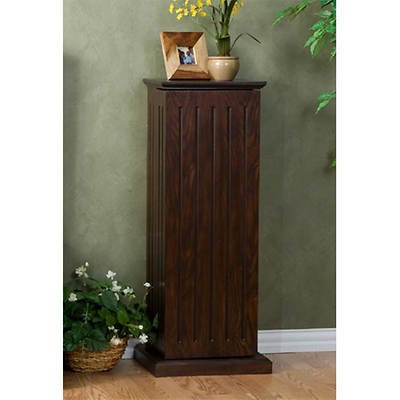 10-Shelf Media Storage Pedestal - Espresso