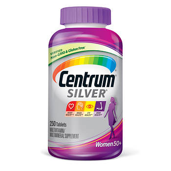 Centrum Silver Ultra Women's Multivitamin and Multimineral Supplement Tablets - 250 ct.