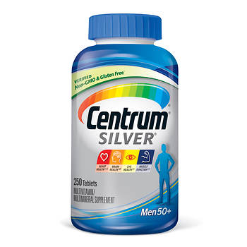 Centrum Silver Ultra Men's Multivitamin and Multimineral Supplement Tablets - 250 Count