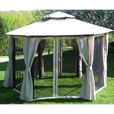 Coolaroo Victoria 10' x 13' Hexagonal Gazebo