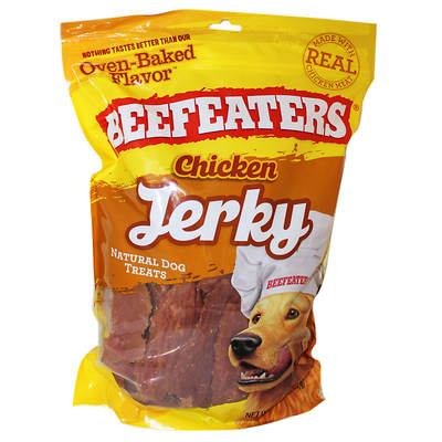 BeefEaters Chicken Jerky Natural Dog Treats, 3 lbs.