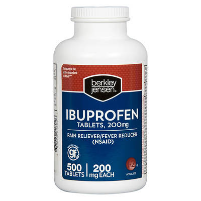 Berkley & Jensen 200mg Ibuprofen Tablets, 500 Count