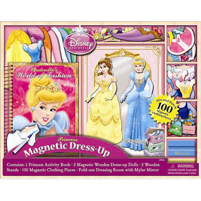 Disney Princess Magnetic Dress-Up Doll Set