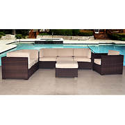 Atlantic Carmel 7-Pc. Patio Set with Bonus FeronGard Vinyl Preservativ