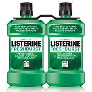 Listerine FreshBurst Antiseptic Mouthwash, 2 pk./1.5L