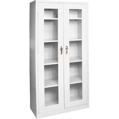 Edsal Antimicrobial Clearview Storage Cabinet