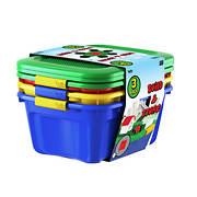 Bella Storage Solution Build & Store 12-Qt. Storage Bins, 3 pk. - Mult