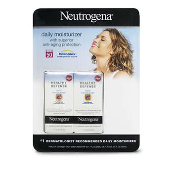 Neutrogena Healthy Defense Daily Moisturizer, 1.7 Fl. Oz., 2-Pk
