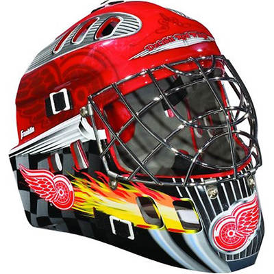 Franklin NHL Team SX Comp GFM 100 Youth Goalie Face Mask - Detroit Red Wings