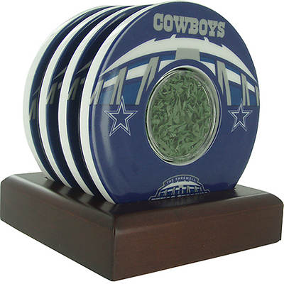 Steiner Sports Dallas Cowboys Texas Stadium Final Season Logo Coasters (Set of 4)