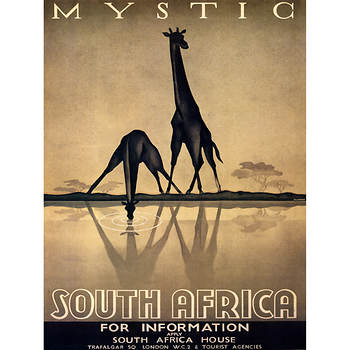 "Gayle Ullman ""Mystic South Africa"" Giclee Art Print, 36"" x 48"""