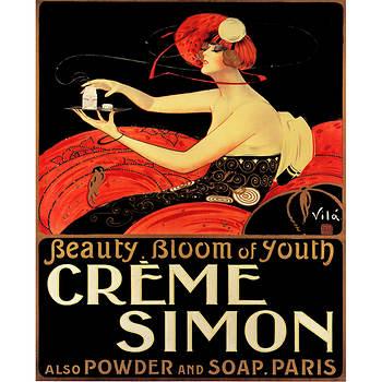 """Emilio Vila """"Creme Simon"""" Giclee Art Print, 24"""" x 32"""""""