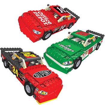 K'NEX NASCAR 88 AMP Energy, and 24 DuPont and 14 Office Depot Stock Car Assortment